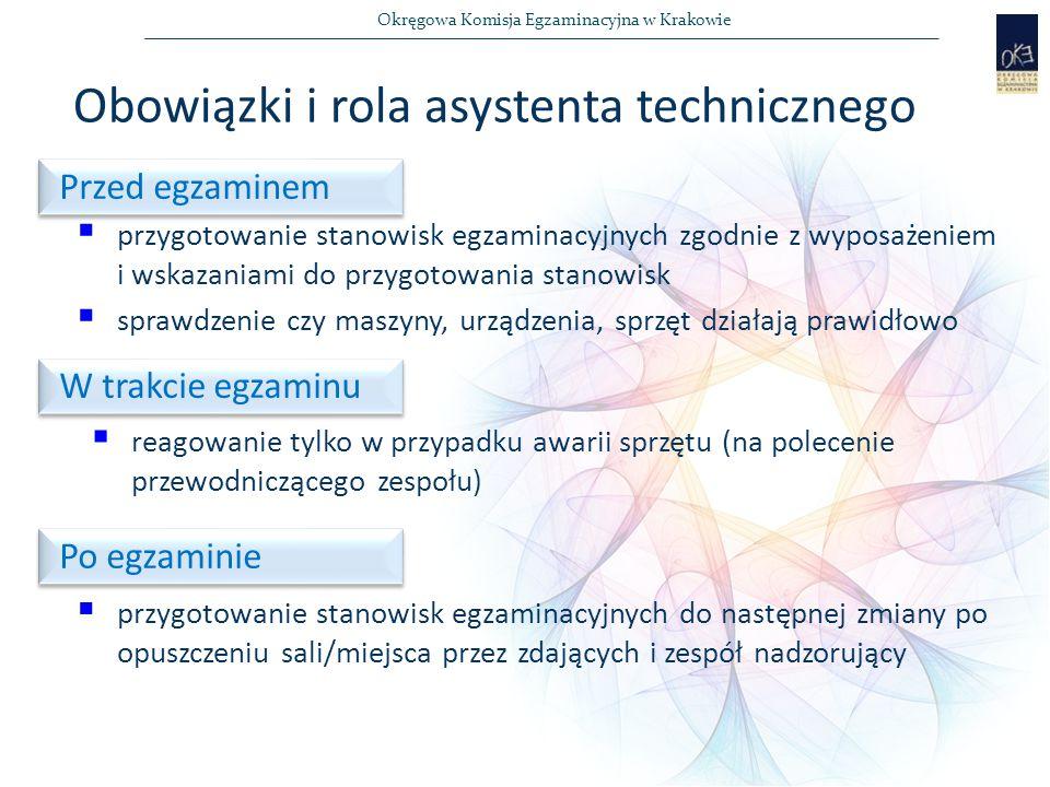 Obowiązki i rola asystenta technicznego