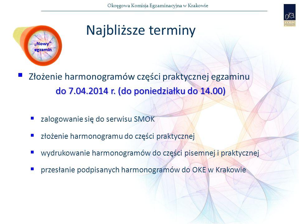 do 7.04.2014 r. (do poniedziałku do 14.00)