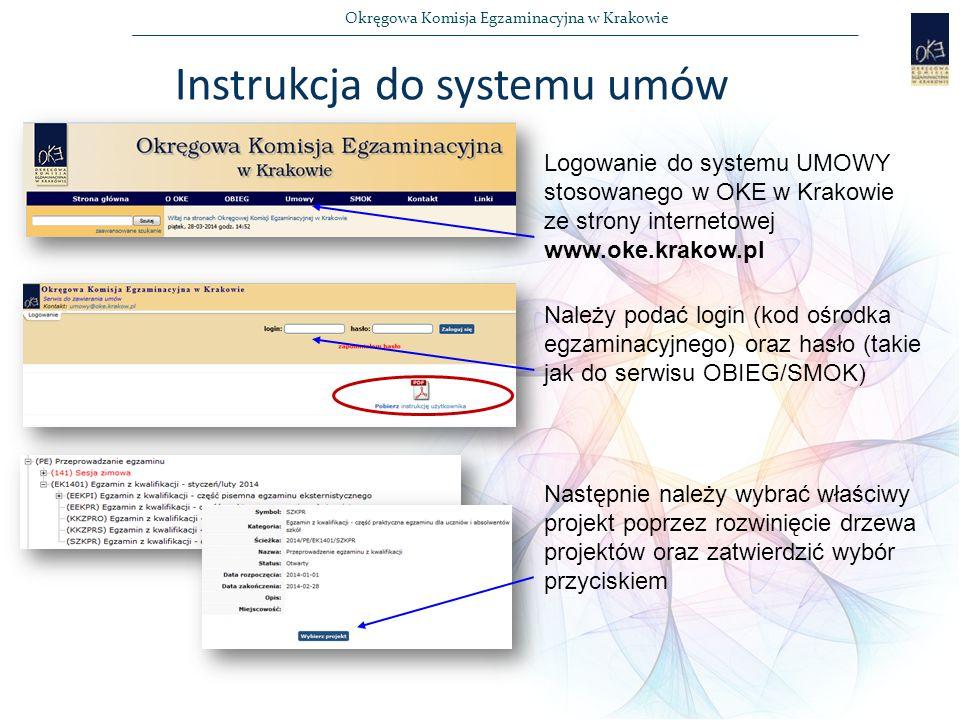 Instrukcja do systemu umów