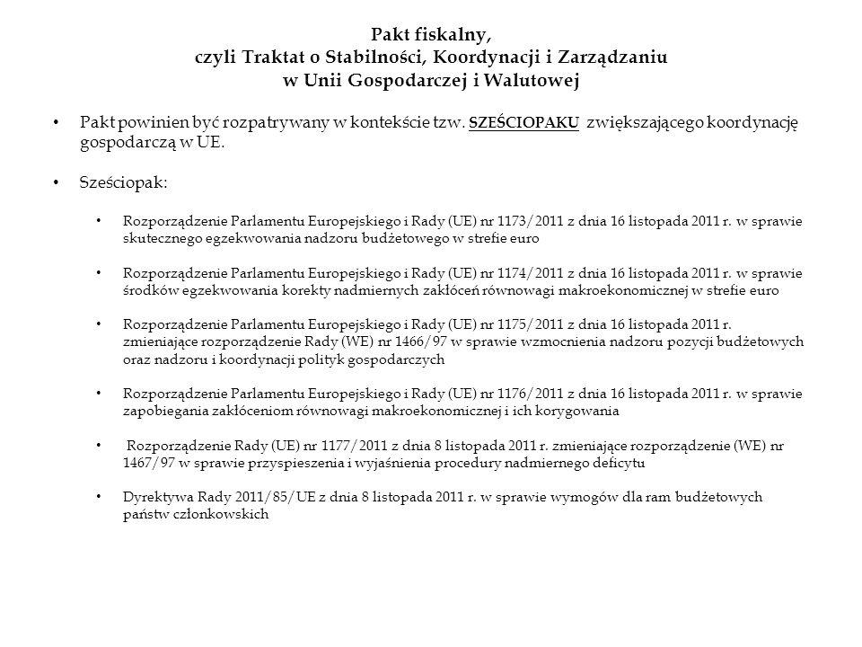 czyli Traktat o Stabilności, Koordynacji i Zarządzaniu
