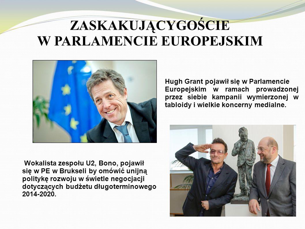 ZASKAKUJĄCYGOŚCIE W PARLAMENCIE EUROPEJSKIM