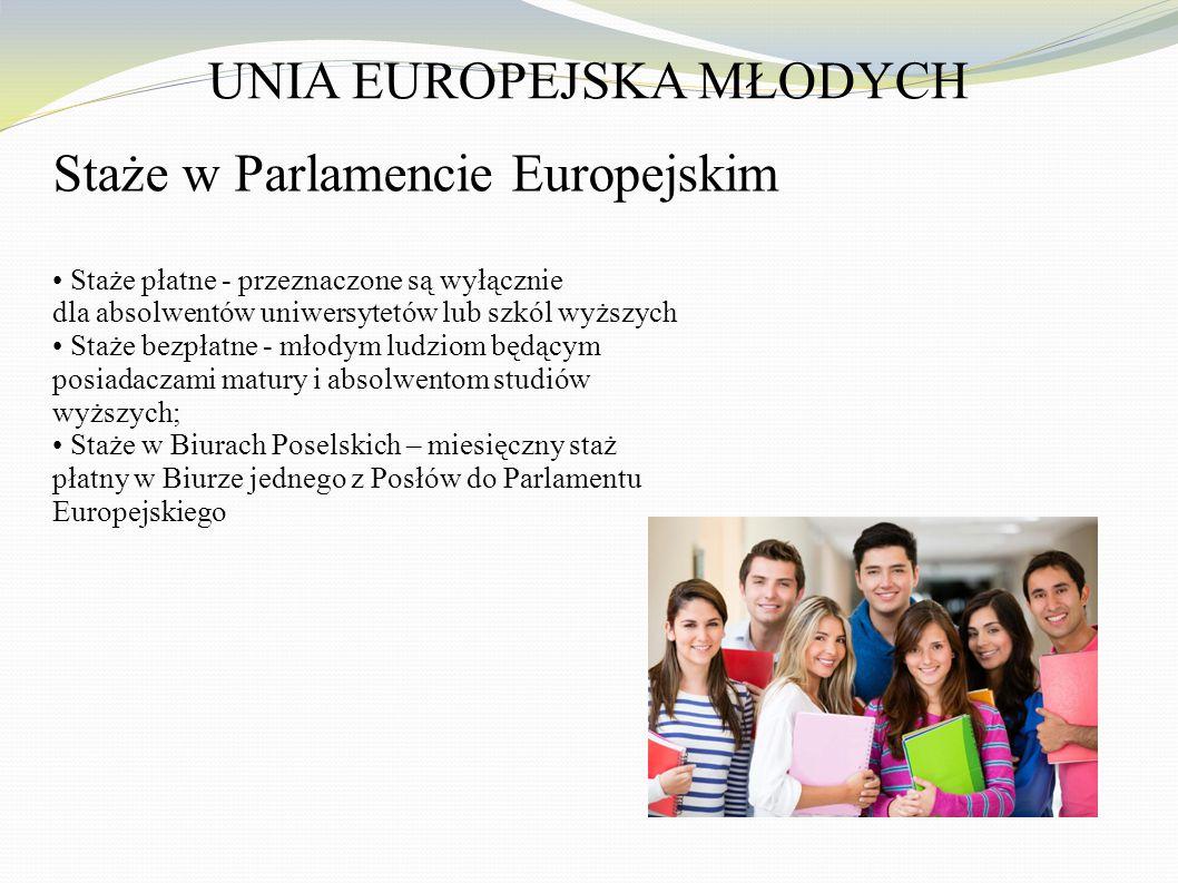 UNIA EUROPEJSKA MŁODYCH