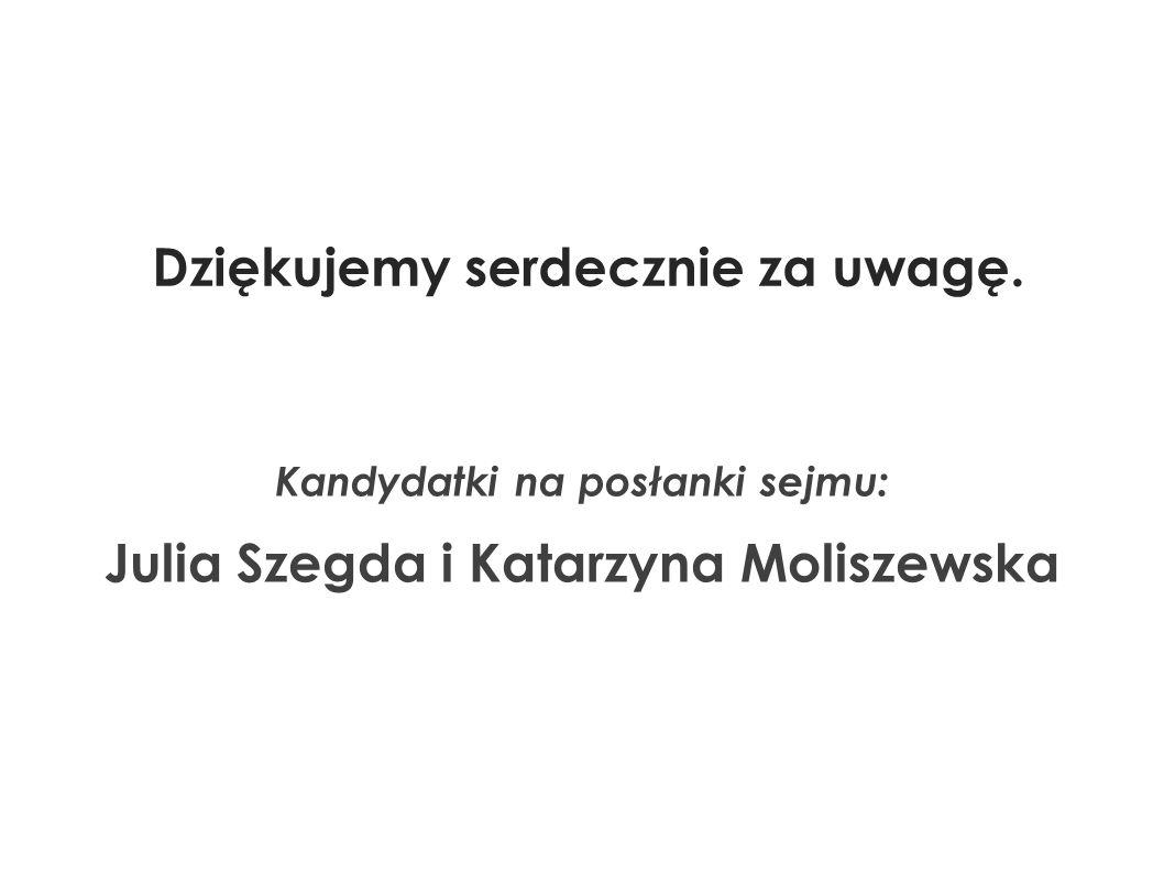 Kandydatki na posłanki sejmu: Julia Szegda i Katarzyna Moliszewska