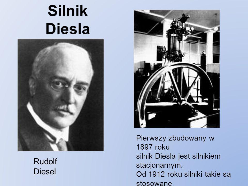 Silnik Diesla Rudolf Diesel