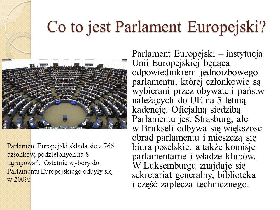 Co to jest Parlament Europejski
