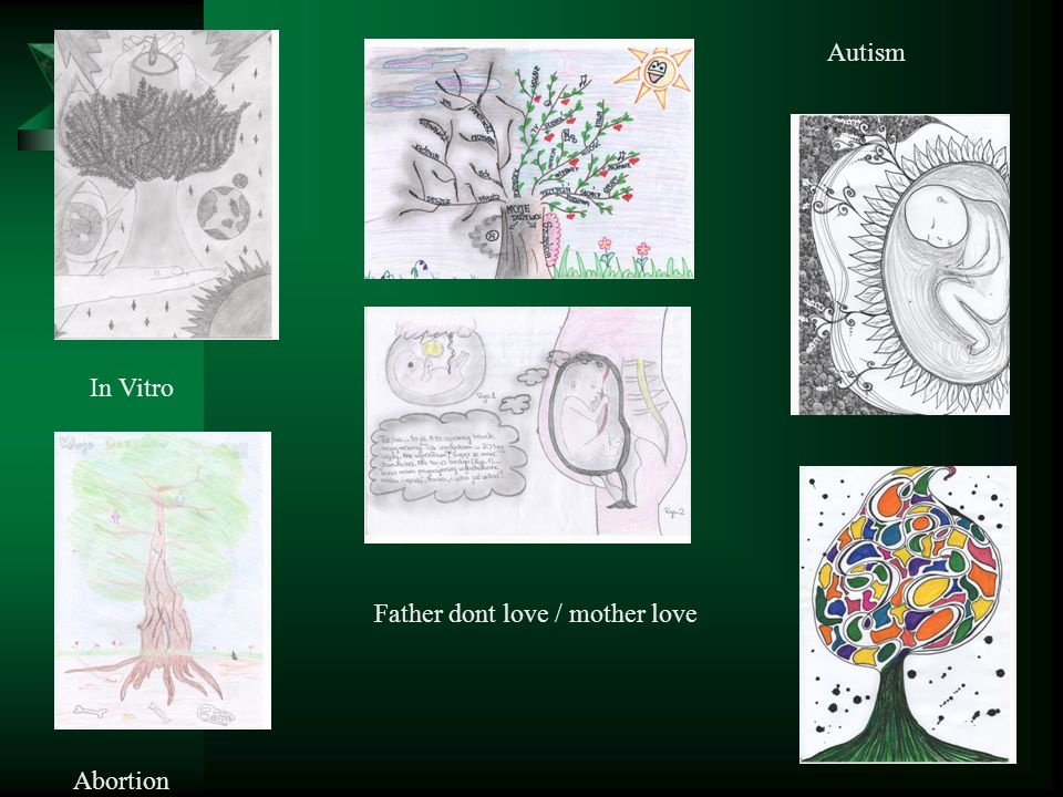 Autism In Vitro Father dont love / mother love Abortion
