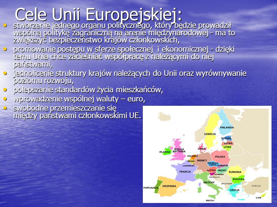 Cele Unii Europejskiej: