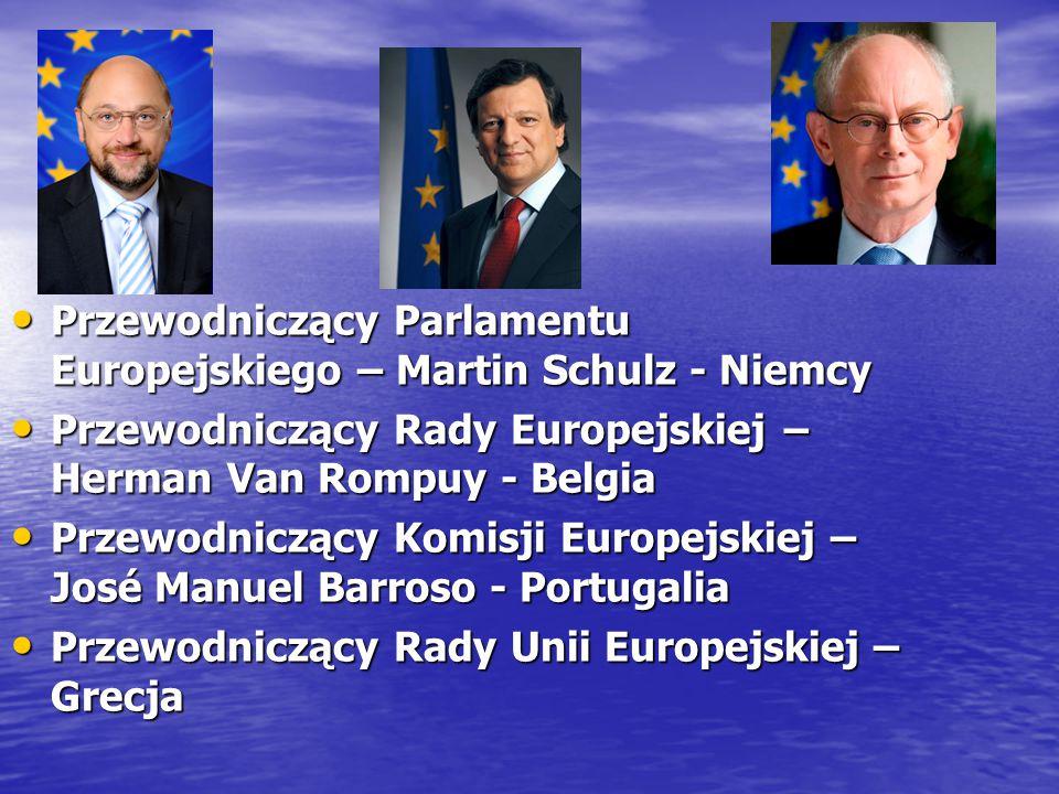 Przewodniczący Parlamentu Europejskiego – Martin Schulz - Niemcy