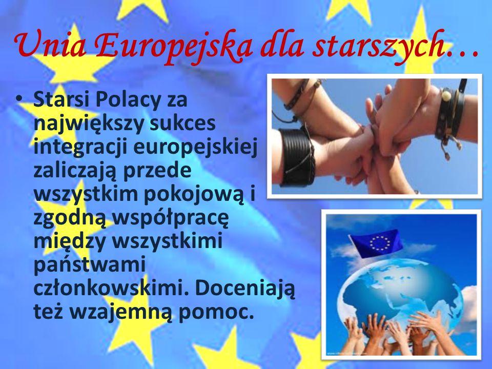 Unia Europejska dla starszych…