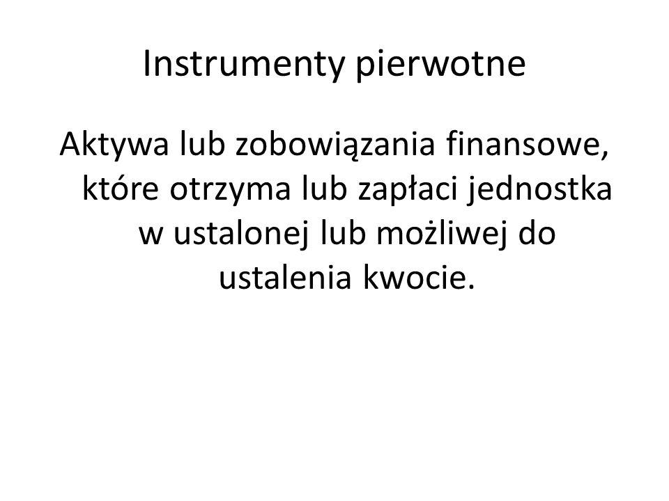 Instrumenty pierwotne