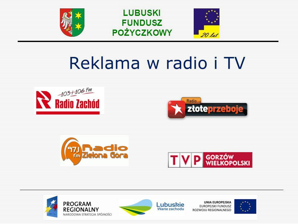 Reklama w radio i TV