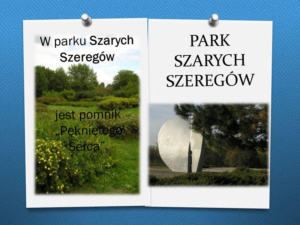 PARK SZARYCH SZEREGÓW W parku Szarych Szeregów