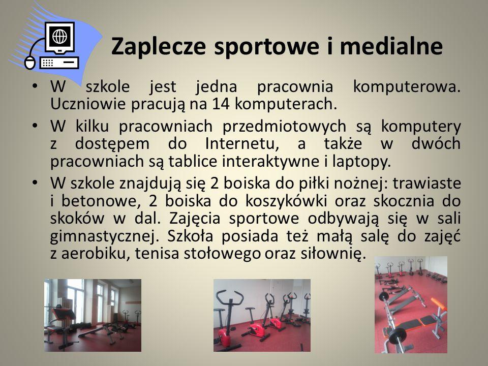 Zaplecze sportowe i medialne
