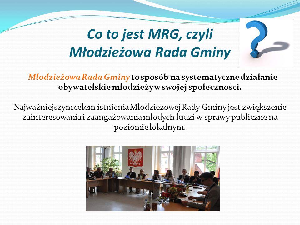 Co to jest MRG, czyli Młodzieżowa Rada Gminy