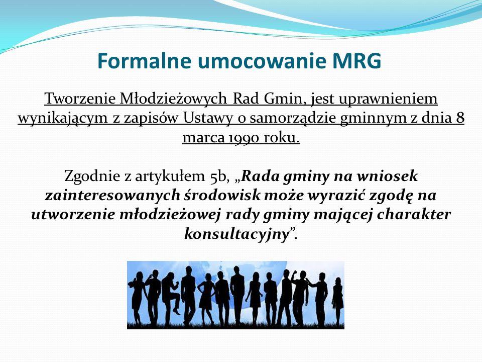 Formalne umocowanie MRG