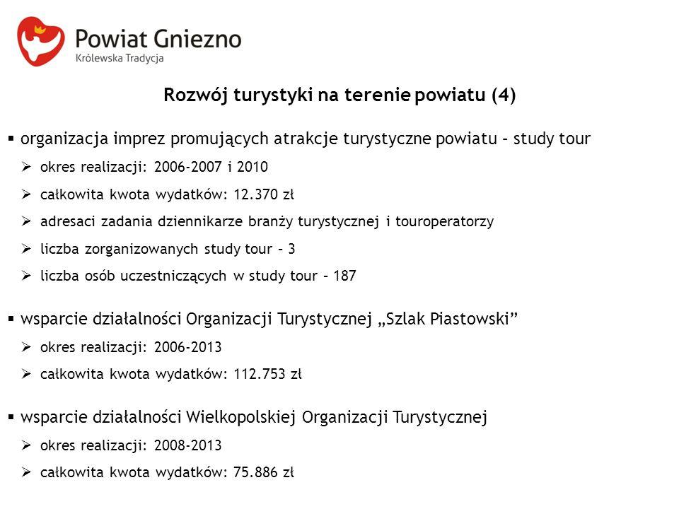 Rozwój turystyki na terenie powiatu (4)