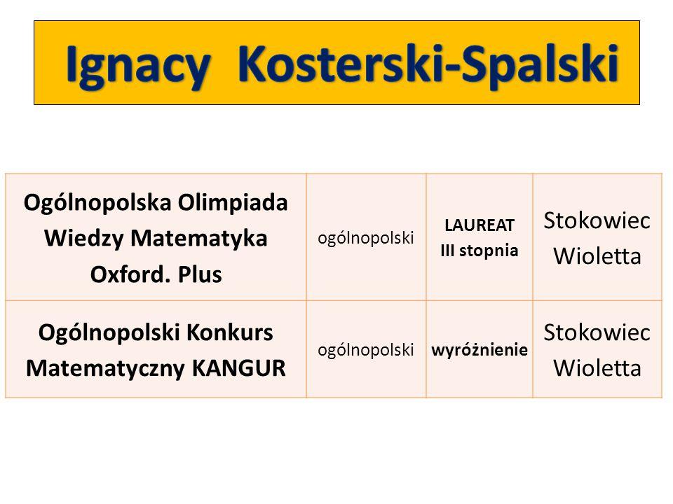 Ignacy Kosterski-Spalski