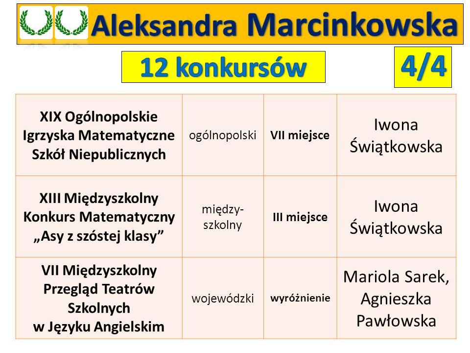 Aleksandra Marcinkowska
