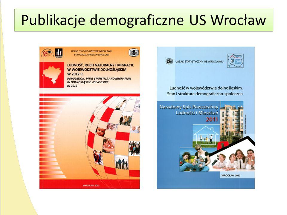 Publikacje demograficzne US Wrocław