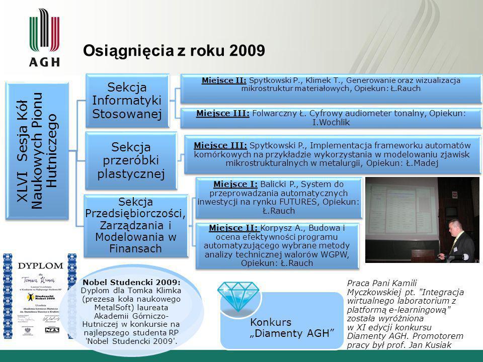 XLVI Sesja Kół Naukowych Pionu Hutniczego