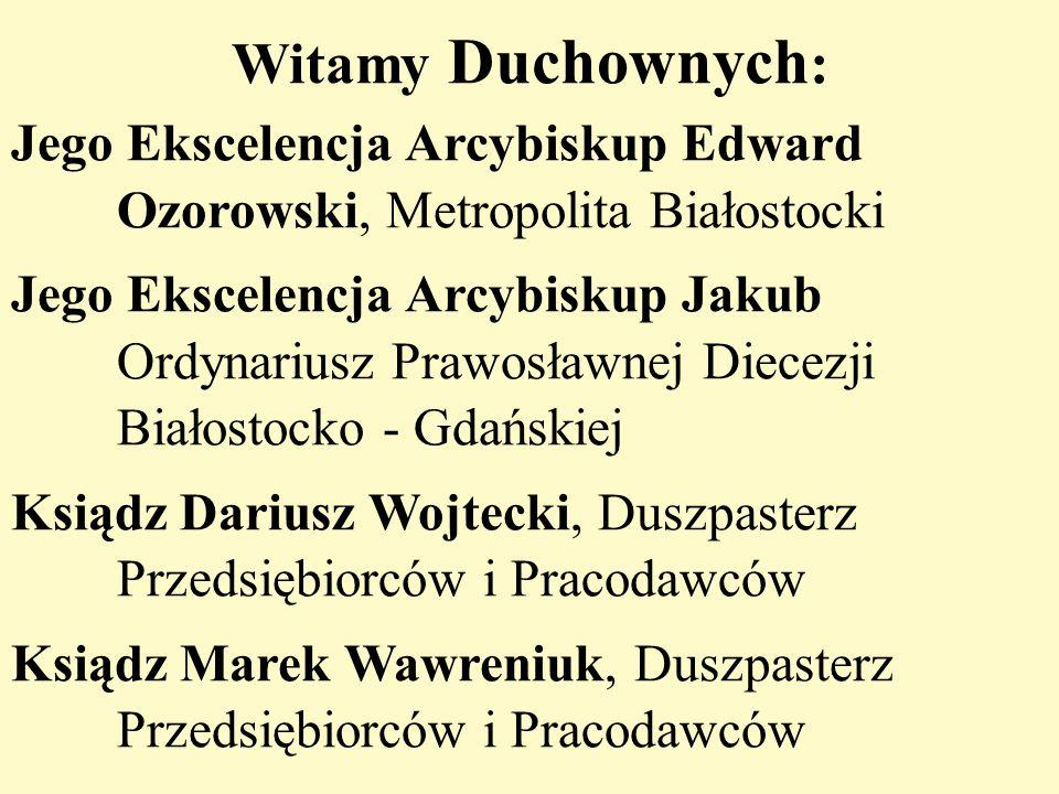 Witamy Duchownych: