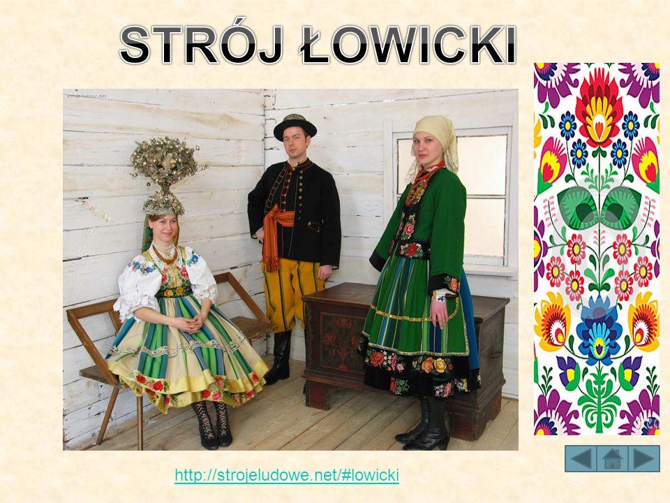 STRÓJ ŁOWICKI http://strojeludowe.net/#lowicki