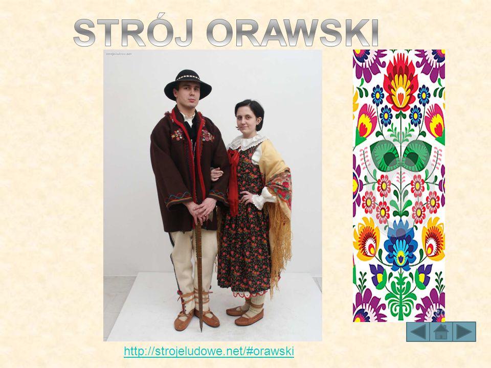 STRÓJ ORAWSKI http://strojeludowe.net/#orawski