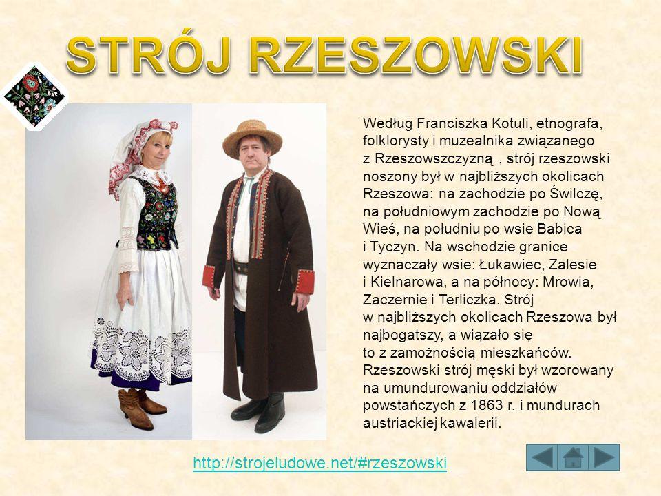 STRÓJ RZESZOWSKI http://strojeludowe.net/#rzeszowski
