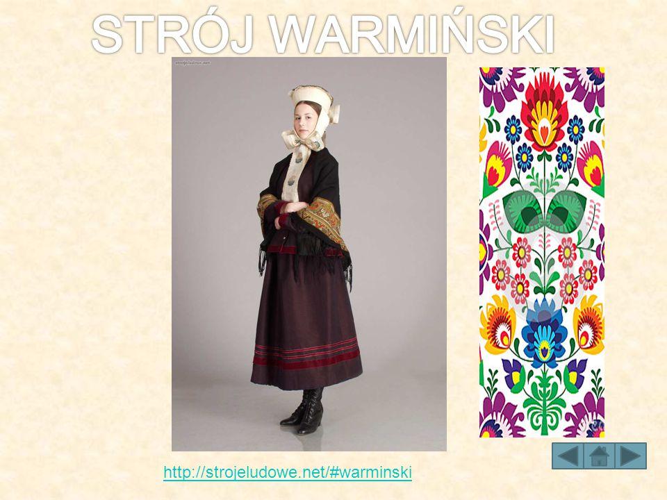 STRÓJ WARMIŃSKI http://strojeludowe.net/#warminski