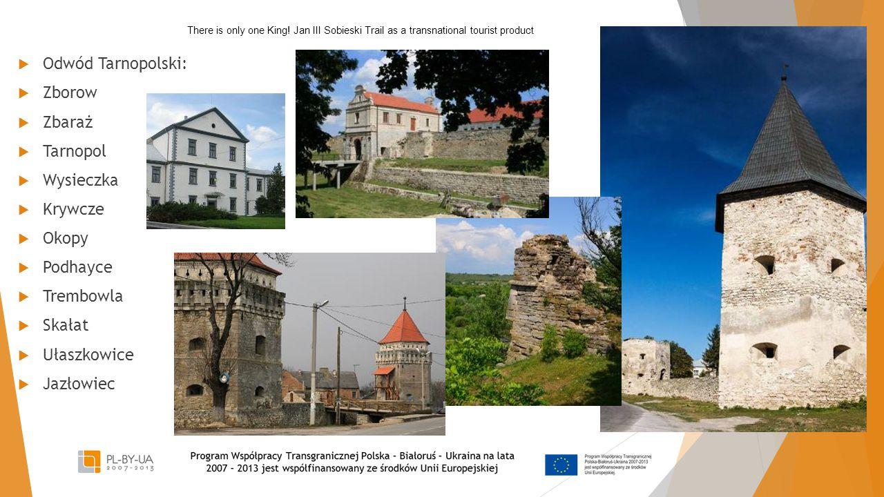 Odwód Tarnopolski: Zborow Zbaraż Tarnopol Wysieczka Krywcze Okopy
