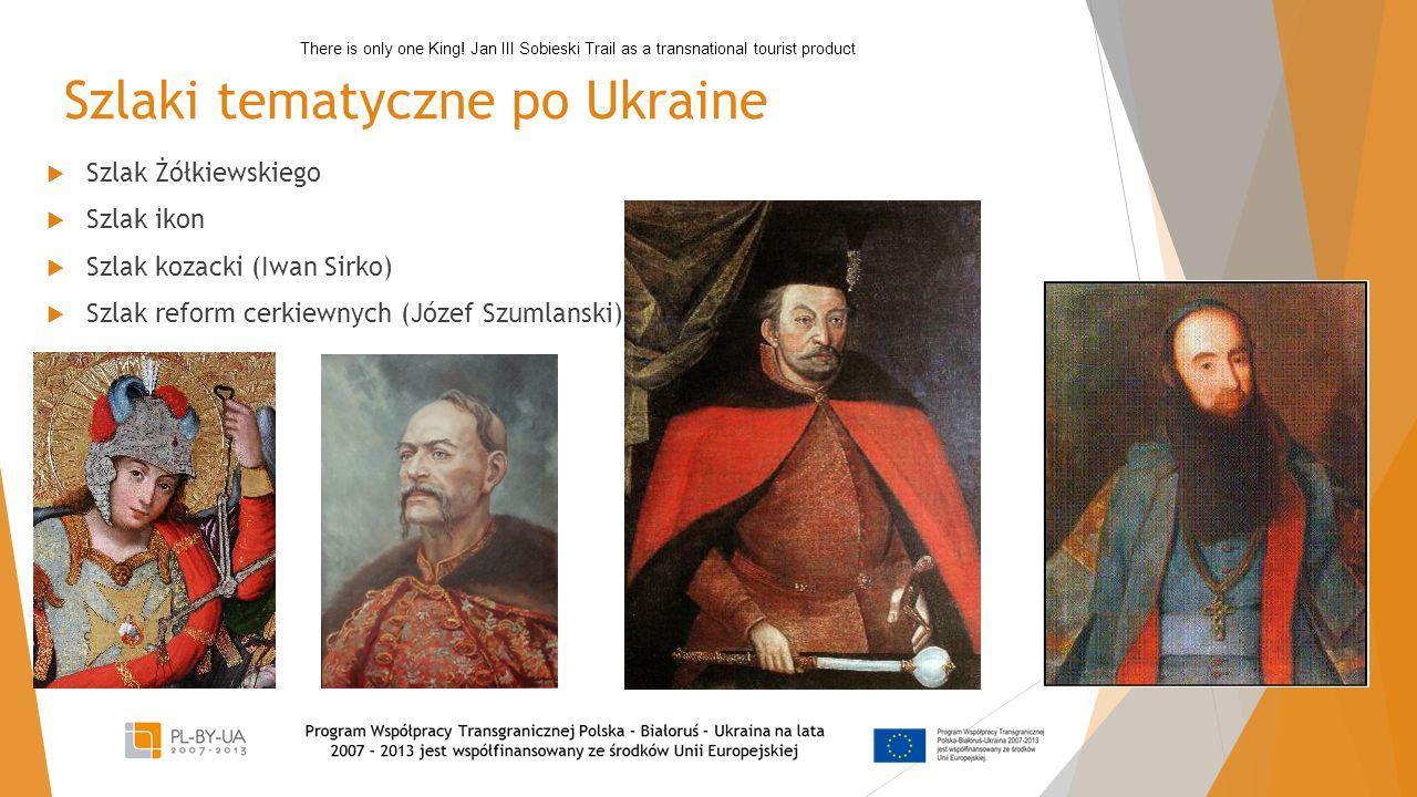 Szlaki tematyczne po Ukraine