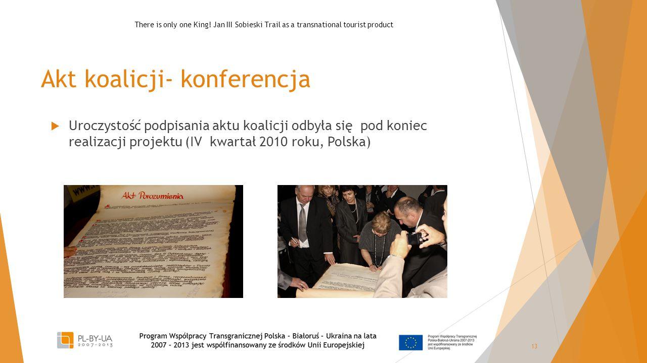 Akt koalicji- konferencja