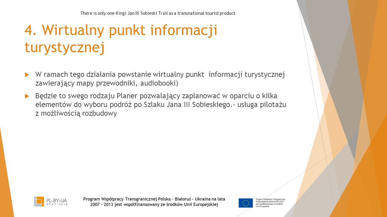 4. Wirtualny punkt informacji turystycznej
