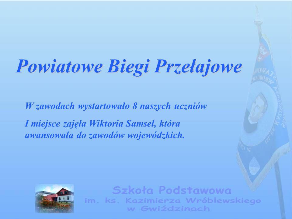 Powiatowe Biegi Przełajowe