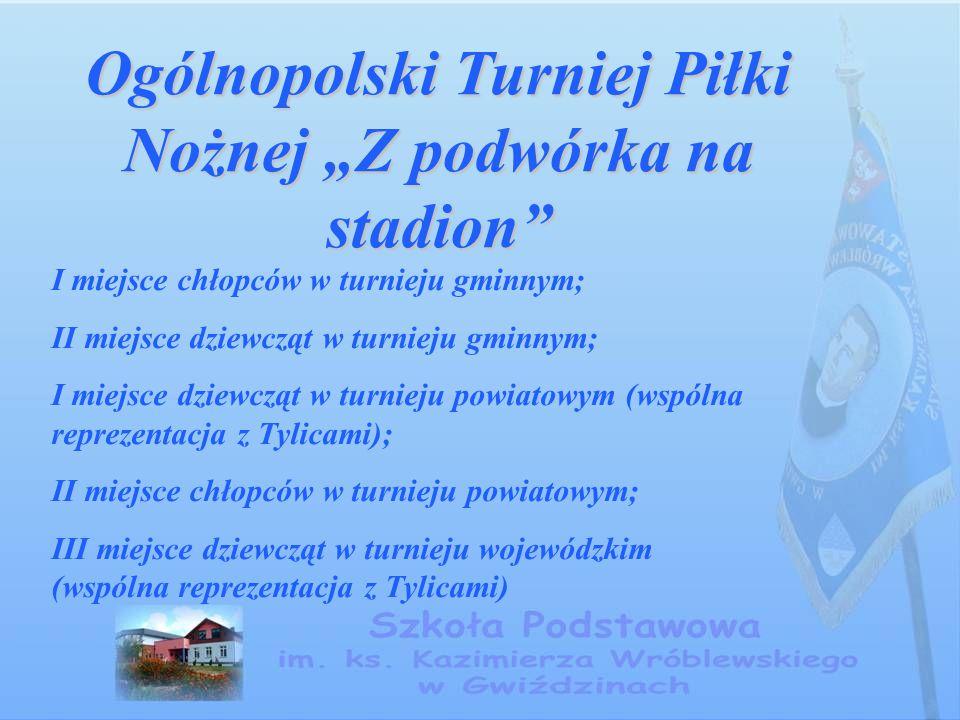 """Ogólnopolski Turniej Piłki Nożnej """"Z podwórka na stadion"""