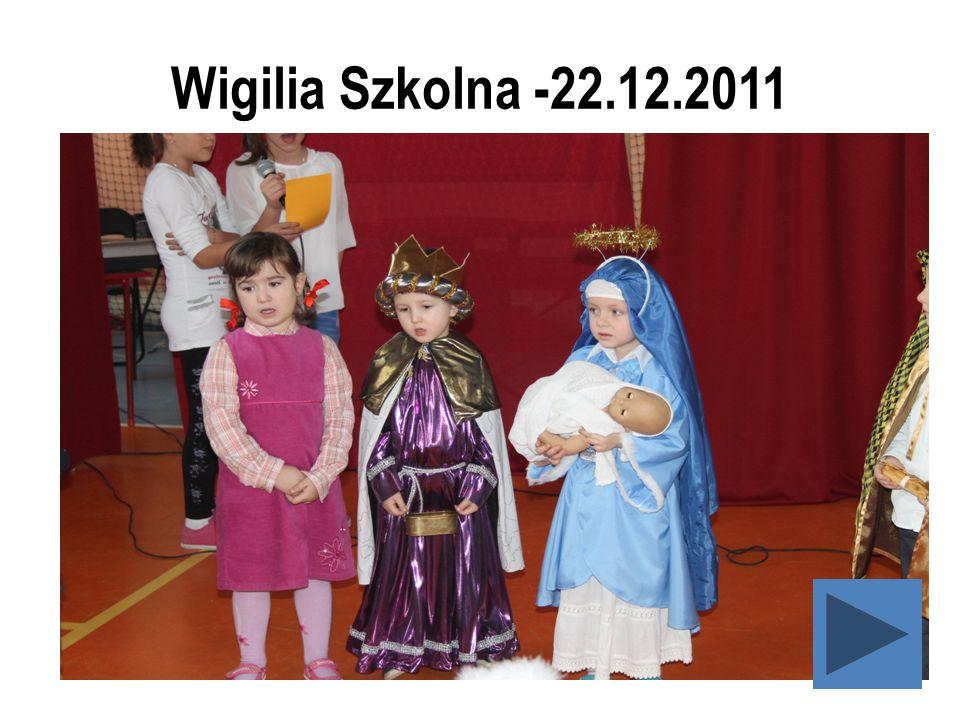 Wigilia Szkolna -22.12.2011