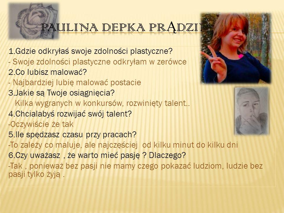 Paulina Depka prądzinska