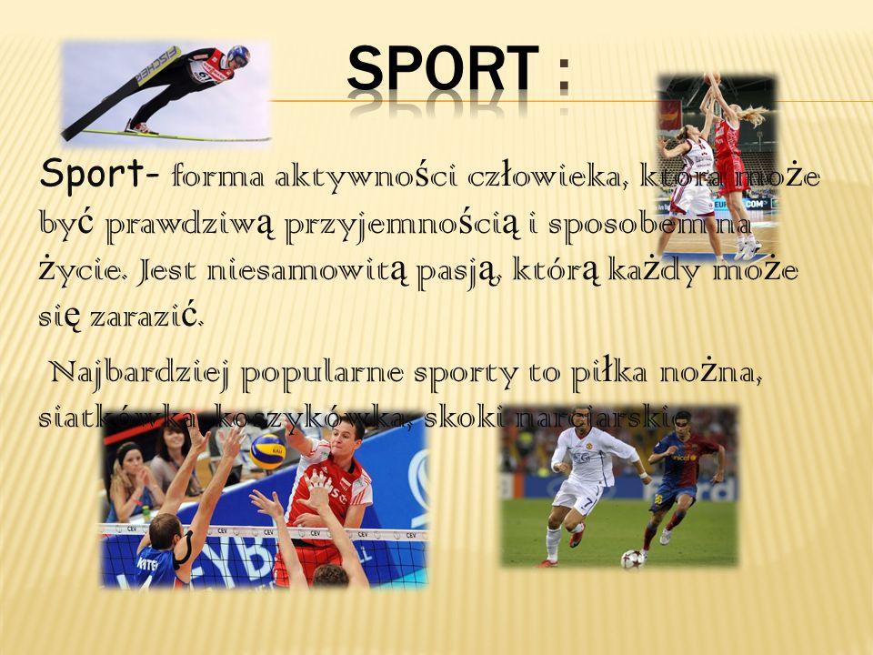 Sport :