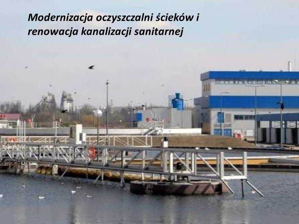 Modernizacja oczyszczalni ścieków i renowacja kanalizacji sanitarnej