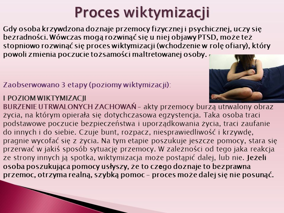 Proces wiktymizacji