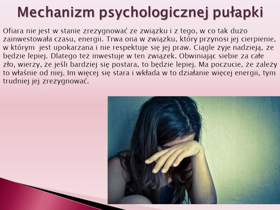 Mechanizm psychologicznej pułapki