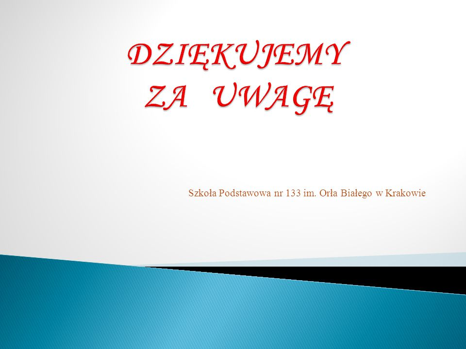 Szkoła Podstawowa nr 133 im. Orła Białego w Krakowie