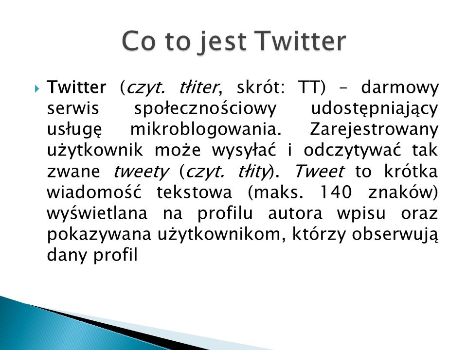 Co to jest Twitter