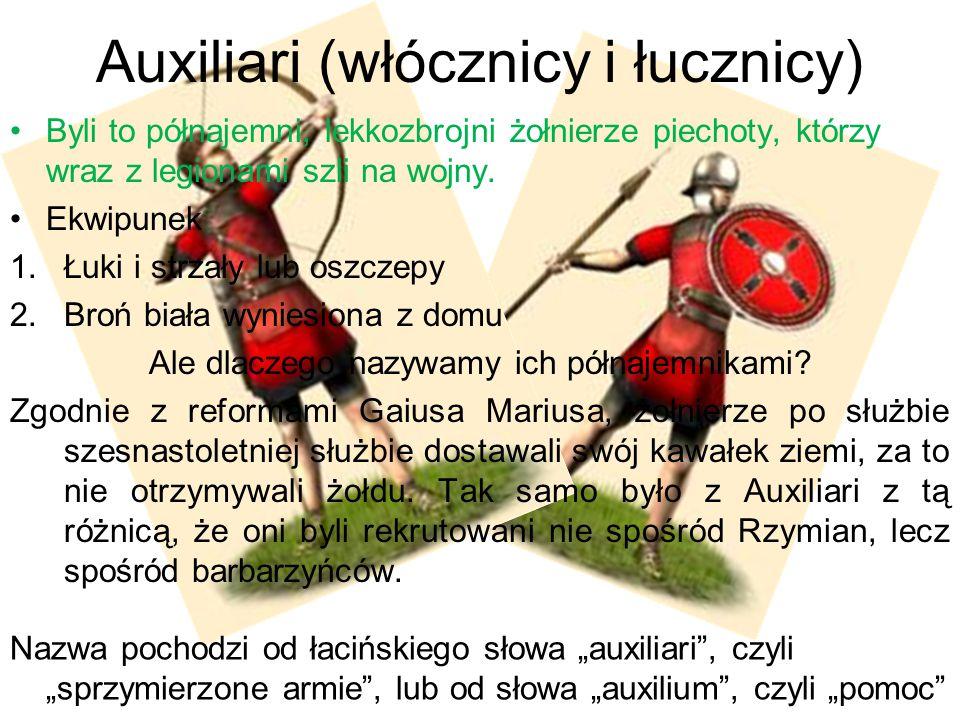 Auxiliari (włócznicy i łucznicy)
