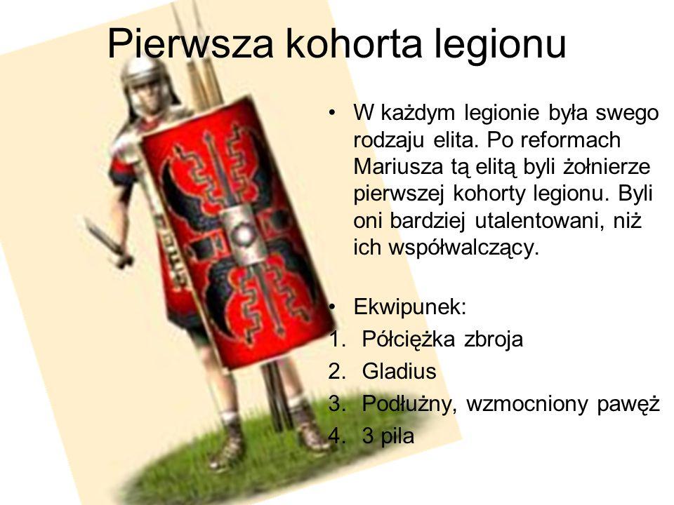 Pierwsza kohorta legionu