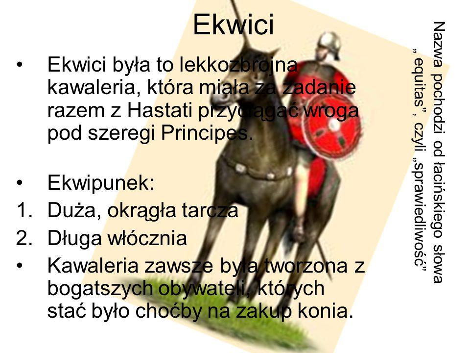 """Ekwici Nazwa pochodzi od łacińskiego słowa """" equitas , czyli """"sprawiedliwość"""
