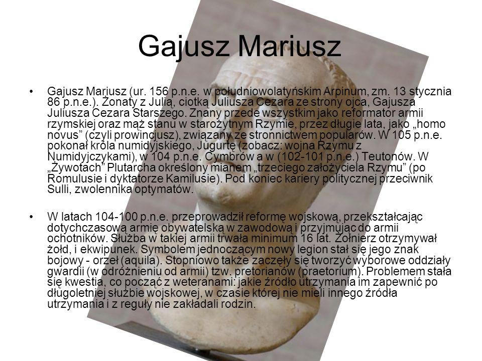 Gajusz Mariusz