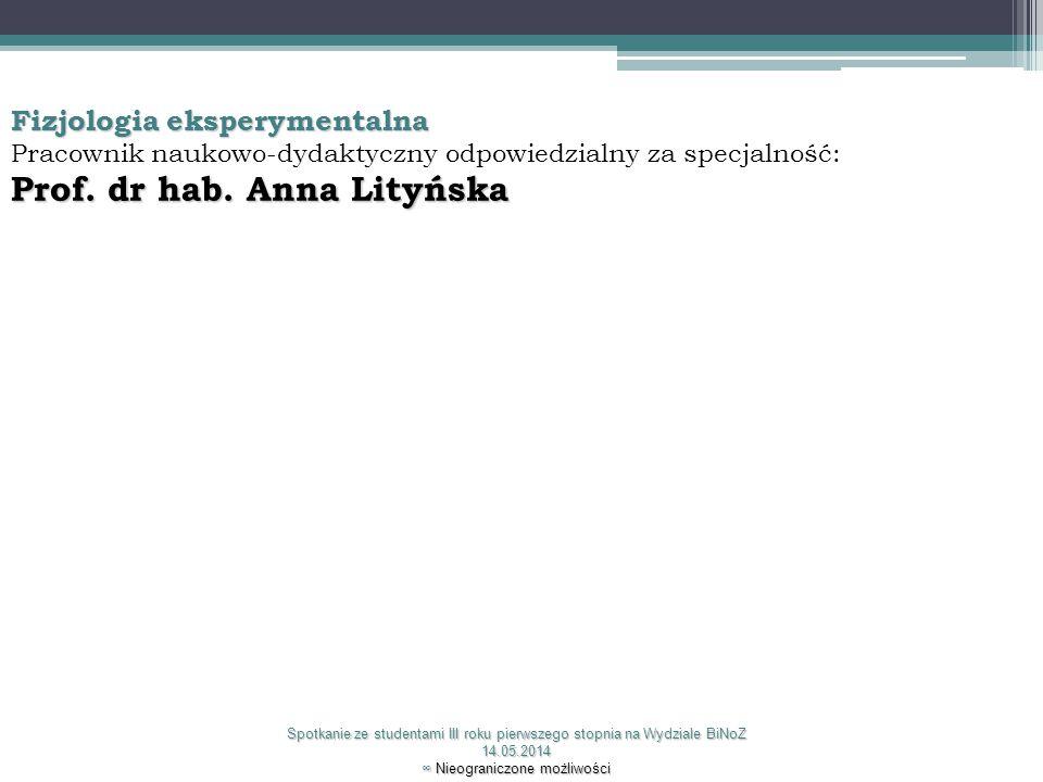 Prof. dr hab. Anna Lityńska