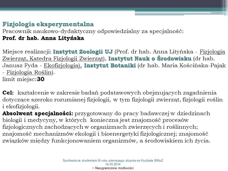 Fizjologia eksperymentalna
