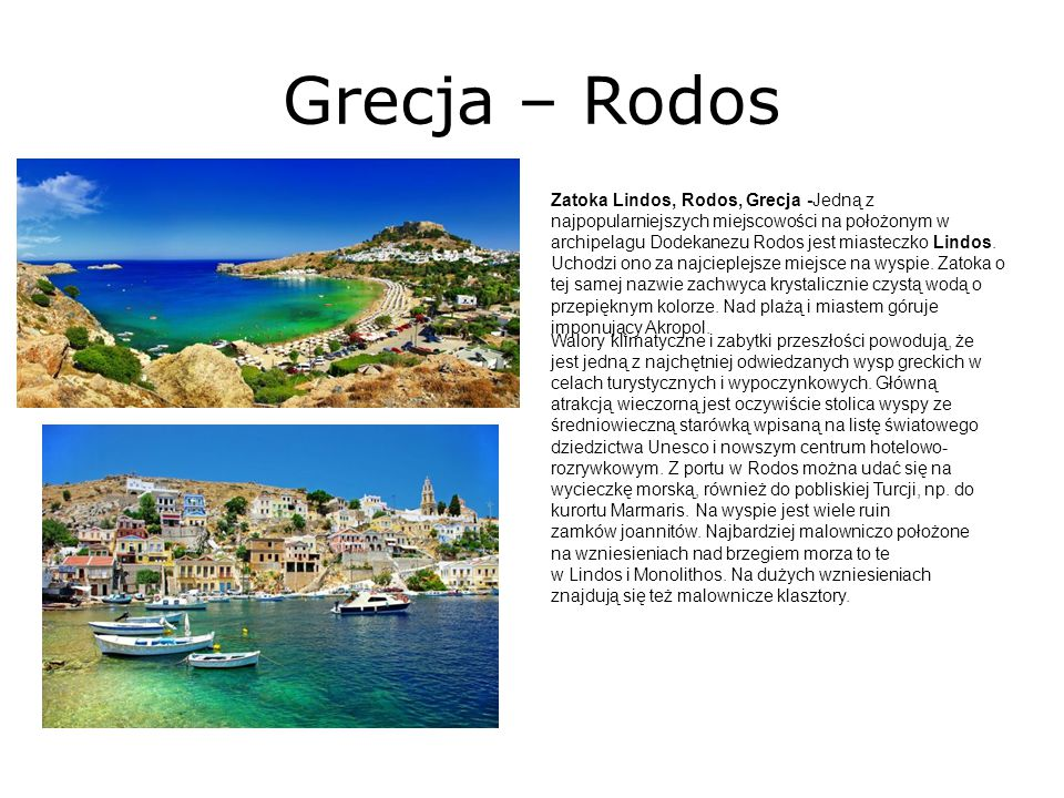 Grecja – Rodos